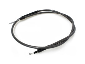 55in. Clutch Cable - Black Pearl. Fits Sportster 2004up.