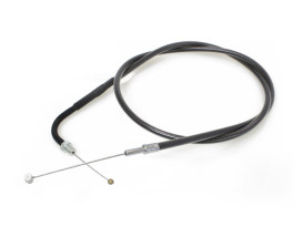 32-1/2in. Throttle Cable - Black Pearl. Fits Big Twin 1990-1995.