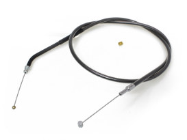 34in. Throttle Cable - Black Pearl. Fits Sportster 1996-2006.