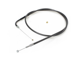 49-1/2in. Throttle Cable - Black Pearl. Fits Big Twin 1996up.