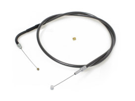 40-3/4in. Throttle Cable - Black Pearl. Fits Big Twin 1996up.