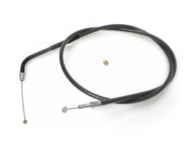 29-1/2in. Throttle Cable - Black Pearl. Fits V-Rod 2002up.