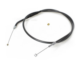 34in. Throttle Cable - Black Pearl. Fits Sportster 2007up.