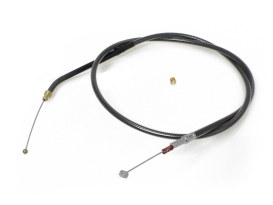 30in. Idle Cable - Black Pearl. Fits Sportster 1996-2006.