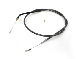 40in. Idle Cable - Black Pearl. Fits Sportster 2007up.