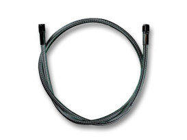 34in. Universal Brake Line - Black Pearl.