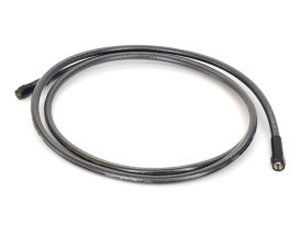 66in. Universal Brake Line - Black Pearl.