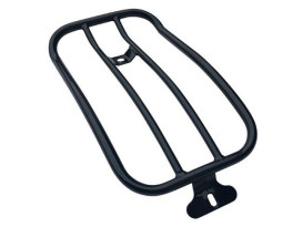 Solo Seat Luggage Rack - Black. Fits Low Rider 2018up.