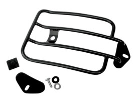 Solo Seat Luggage Rack - Black. Fits Sportster 2004up.