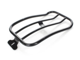 Gloss Black Solo Seat Luggage Rack; Dyna Low Rider 'S' 2016-17