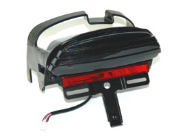 LED Tri-Bar Tailight with Smoke Lens. Fits Dyna Fat Bob 2008-2013.
