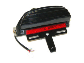 Tri-Bar LED Tail Light With Smoke Lens. Fits FX Softail 2006-2015 & Crossbones 2009-2011