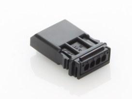 MX-1900 4-Position Pin Housing - Black.