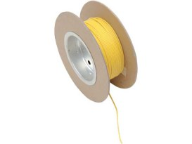 Wire; 18-Gauge Yellow 100' Roll