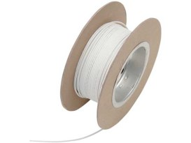 Wire; 18-Gauge White 100' Roll