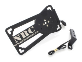 New Rage Cycles Side Mount Number Plate Kit Suits XG750A