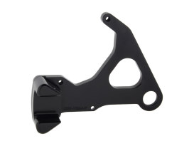 Left Hand Rear Caliper Mount - Black. Fits Sportster 2008up when using Performance Machine 125x4RSPH Caliper.