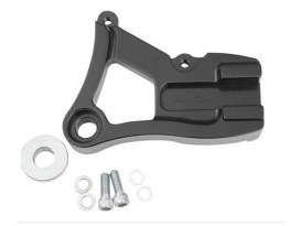 Right Hand Rear Caliper Mount - Black. Fits Dyna 1991-1999 with 11.5in. Disc Rotor when using Performance Machine 125x4R Caliper.