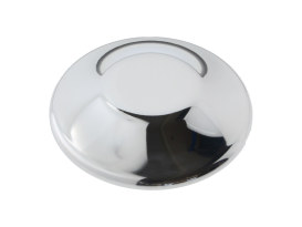 Performance Machine Forward Control Replacement Pivot Cap with Chrome Finish.