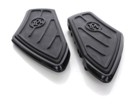 Performance Machine Contour Rear Floor Boards with Black Finish. Fits Touring 1993up.