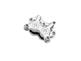 Universal 4 Piston Caliper - Chrome. Fits H-D with 11.5in. Disc Rotor.