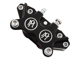 Universal 4 Piston Caliper - Black Contrast Cut.