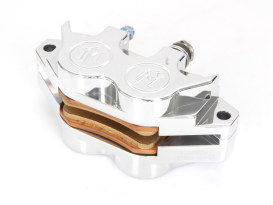 Universal 4 Piston Caliper with Polished Finish.