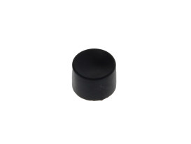Cap; Push Button Blk Replacement (Each)