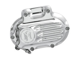 Fluted Hydraulic Clutch Cover - Chrome. Fits Dyna 2006-2017, Softail 2007-2017 & Touring 2007-2013.