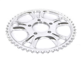 48 Tooth Gasser & Luxe  Rear Chain Sprocket - Polished.