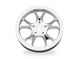 66 Tooth x 1in. wide Gasser & Luxe Pulley - Chrome.