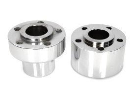 Front Wheel Hub with Chrome Finish. Fits Softail 1986-1999.
