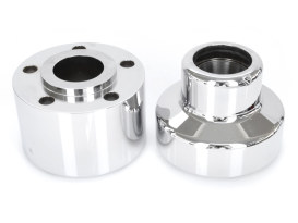 Front Wheel Hub with Chrome Finish. Fits Heritage Springer 1997-1999, Springer Softail 1988-1999 & Bad Boy 1995-1997 with Single Disc Rotor.