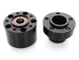 Front Wheel Hub - Black. Fits FXST 2007-2010 with Single Disc Rotor.
