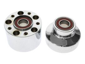 Front Wheel Hub - Chrome. Fits FXST 2007-2010 with Single Disc Rotor.