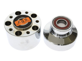 Front Wheel Hub - Chrome. Fits FXST 2011-2015 with ABS.
