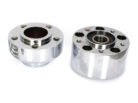 Front Wheel Hub - Chrome. Fits FXBB 2018up with ABS.