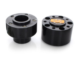 Front Wheel Hub - Black. Fits FLSL, FLHC & FLDE 2018up Models with ABS.