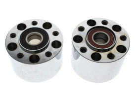 Rear Wheel Hub - Chrome. Fits Sportster 2014up with ABS.