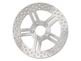 11-1/2in. Rear Classic 5 Spoke Stainless Steel Disc Rotor. Fits Most Big Twin & Sportster 2000up.
