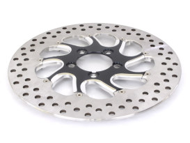 11.8in. Right Hand Rear Touque Disc Rotor - Black Contrast Cut Platinum. Fits V-Rod 2006up.