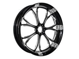 21in. x 3.50in. wide Paramount Wheel - Black Contrast Cut Platinum.