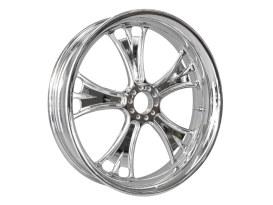 23in. x 3.50in. wide Gasser Wheel - Chrome.