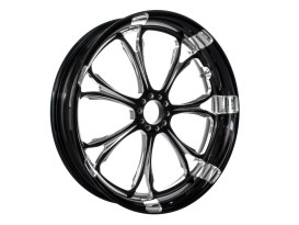23in. x 3.50in. wide Paramount Wheel - Black Contrast Cut Platinum.