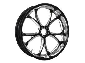 16in. x 3.50in. wide Luxe Wheel - Black Contrast Cut Platinum.