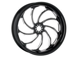 17in. x 3.50in. wide Torque Wheel - Black Contrast Cut Platinum.