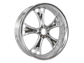 26in. x 3.50in. wide Gasser Wheel - Chrome.
