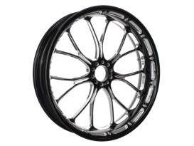 26in. x 3.50in. wide Heathen Wheel - Black Contrast Cut Platinum.
