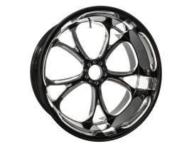 18in. x 8.50in. wide Luxe Wheel - Black Contrast Cut Platinum.</P><P></P><P>