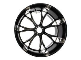 18in. x 10.00in. wide Paramount Wheel - Black Contrast Cut Platinum.